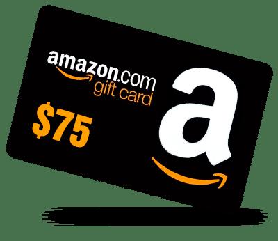 amazon giftcard 75